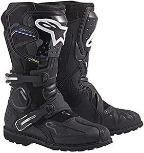 Alpinestars 3402-0379 Toucan Gore-Tex Men's Weatherproof Motorcycle Touring Boots (Black, US Size 11)