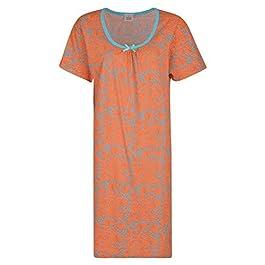Paradise Ladies Nightie Printed Nightdresses EX Store Short Sleeve UK 8-26 New
