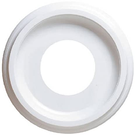 """Westinghouse 10"""" Molded Plastic Ceiling Medallion for Light Fixtures  and Ceiling Fans - Westinghouse 10"""