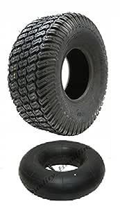 Un conjunto de neumáticos y tubos de 15x6.00-6: Amazon.es: Coche y ...
