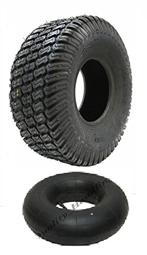 Parnells one - 4.10x3.50-4 4ply turf grass lawn mower tyre and tube Wanda