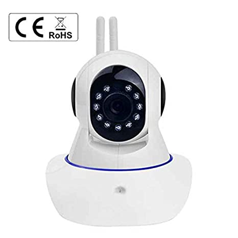 Cámara de Vigilancia Wireless 4x Zoom Digital 1.0 Megapixels filtro IR HD cámara IP Inalámbrica Visión