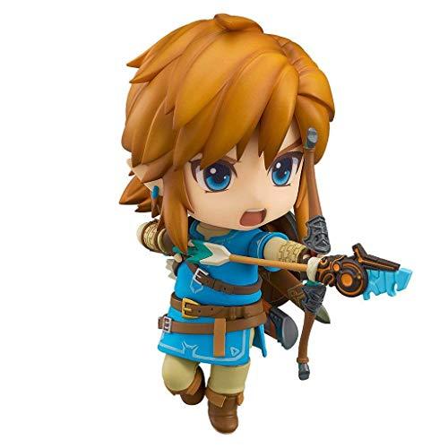 Yang baby The Legend of Zelda: Breath of The Wild: Link Action Figure-Figure Model Decoration-Height is About 3.9 Inches (Breath Of The Wild Real Action Hero)