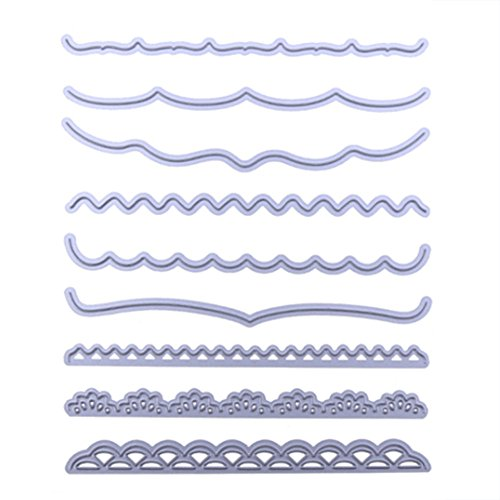 Metal Cutting Dies Stencils for DIY Scrapbooking Album Embossing Paper Cards Decorative Crafts (Decorative Borders)