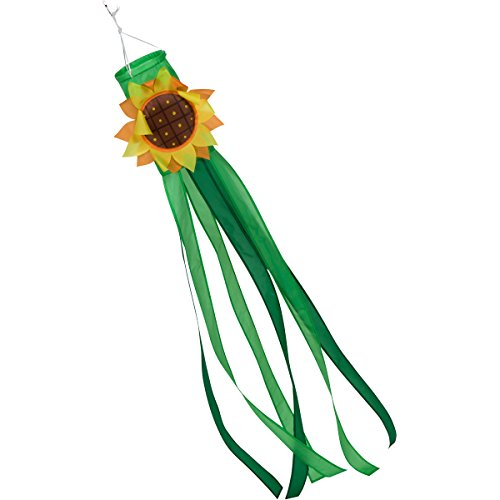 Zcutt Home Goods 60-inch Sunflower Windsock (5-feet) -