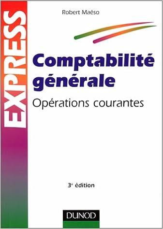 Livre gratuits COMPTABILITE GENERALE. Opérations courantes, 3ème édition pdf, epub ebook