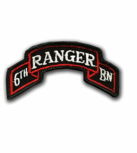 (6TH RANGER BATTALION MILITARY PATCH)