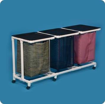 Amazon.com: Standard Line Triple Jumbo bolsas de ropa sucia ...