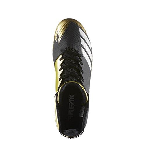 Midollo Adidas Freak X Carbon Mid Core Da Calcio Nero-bianco-oro Metallizzato
