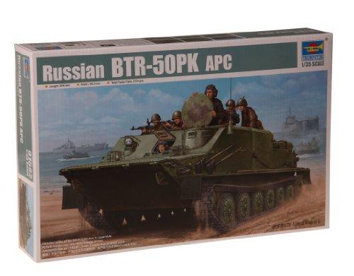 Trumpeter 1/35 Russian BTR50PK Amphibious Armored Personnel Carrier (APC)