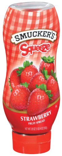 Smucker's  Squeeze? Strawberry Fruit Spread, 20-Ounce (Pack of 6)