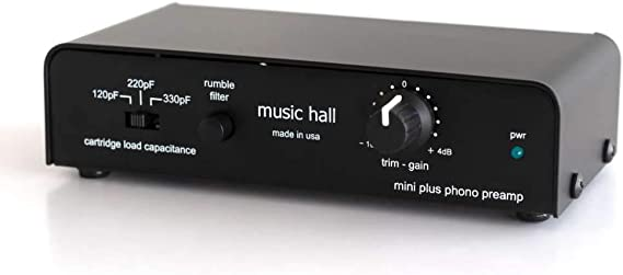 Music Hall mini plus MM/MC Phono Preamp/Headphone Amp