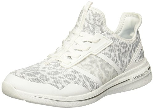 Entrenadores Gris para 2 Burst Mujer Game Y Blanco Skechers 0 Changing wOXZxqv