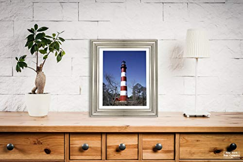 New York Map Company  Assateague Island, VA - Photo - Lighthouse on Assateague Island, Virginia- Carol Highsmith |Size: 8x10|Ready to Frame