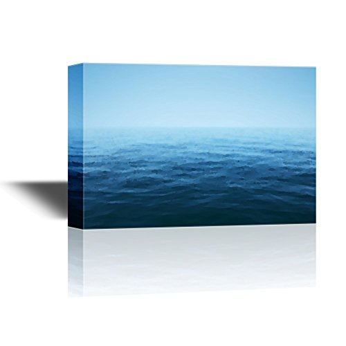 Abstract Landscape of the Vast Calm Blue Ocean Gallery