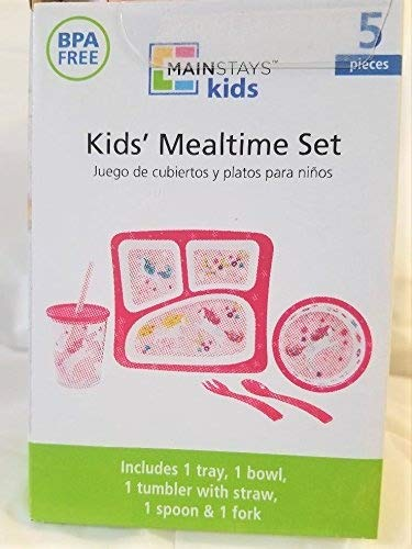 Amazon.com | 5 Piece Unicorn Melamine Mealtime Set: Glassware & Drinkware