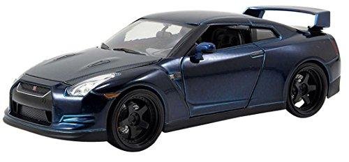Fast & Furious Nissan GTR Blue 1:24 Diecast By Jada Toys