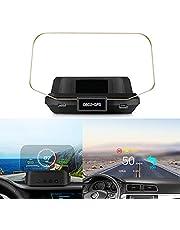Universal Car HUD Display OBD+GPS Head Up Display High Definition Speedometer Car Diagnostic Fault Code Safe Driving Alarm C2