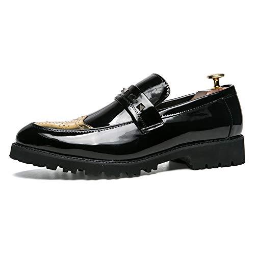 Oxford Dimensione Slip Uomo Gold Formale Lavoro Da Apragaz 43 Scarpe on Loafer Eu Fashion color Gold Uomo qBwtO4