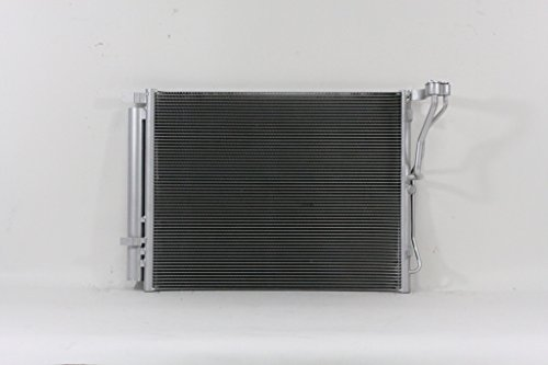 A-C Condenser - Pacific Best Inc For/Fit 3985 11-14 Hyundai Sonata 11-15 Kia Optimat 2.0L English L4