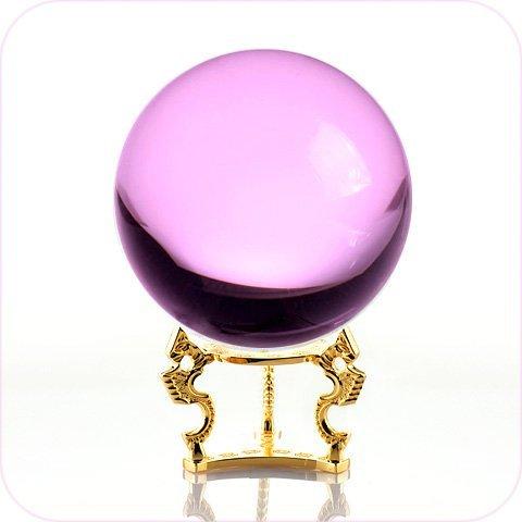 crystal ball pink - 9