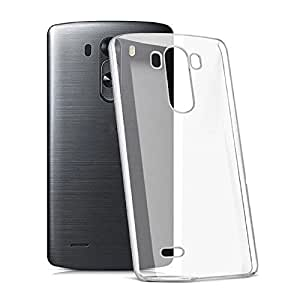 Ebestsale Ultra Thin Slim Crystal Clear Soft TPU Back Cover Transparent Fitted Skin Case for LG G3 mini Compact Beat