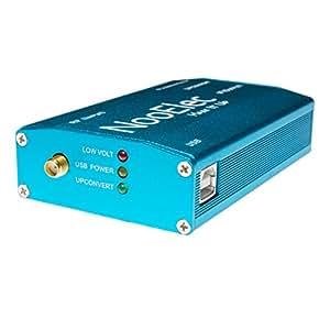 Extruded Aluminum Enclosure Kit, Blue, for Ham It Up v1.3 RF Upconverter for NESDR and RTL-SDR radios