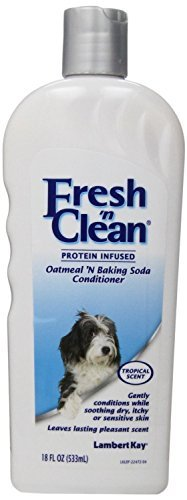 Fresh 'n Clean Tropical Scent Conditioner for Pets, 18-Ounce, 12 PACK (Lambert Oatmeal Kay)