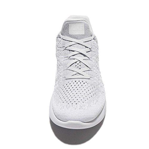 Nike Tanjun - Zapatillas Unisex, Color Negro/Blanco, Talla 40.5 White/White-pure Platinum