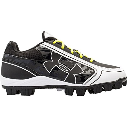 Under Armour Women's Glyde RM Softball Cleat Black/White 8 M