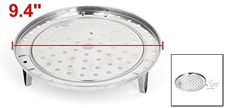 Amazon.com: eDealMax Cocina 3 piernas vapor rack Alimentación vapor Soporte de utensilios de cocina de 24 cm Dia: Kitchen & Dining