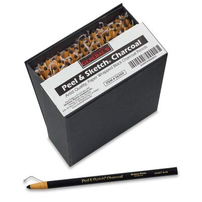General's Peel and Sketch Charcoal Pencils and Sets by GENERAL'S