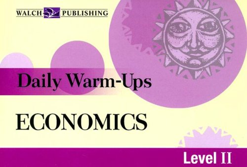 Download Daily Warm-Ups: Economics Level 2 ebook
