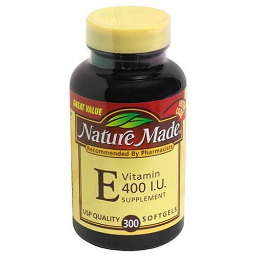 Nature Made Vitamin E dl-Alpha, 400IU, 300 Softgels (Pack of 2) by Nature Made