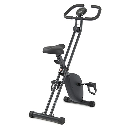 Akonza Folding Exercise X-Bicycle Home Cycling Magnetic Trainer Fitness Stationary Machine