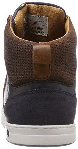 29y Pantofola Blues Uomo a Mondovi Alto Dress Blu Sneaker d'Oro Mid Collo TrTq6fx