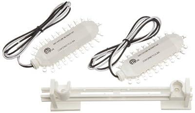 Morris Products 73081 Exit Sign Retrofit Kit, Hard Wire Unit, Green LED