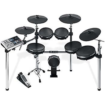 alesis dm10 x mesh kit premium ten piece professional electronic drum set with. Black Bedroom Furniture Sets. Home Design Ideas
