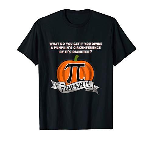 Mens / Womens Funny Halloween Math Joke Pumpkin Pie / Pi ()