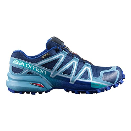 Salomon L38308200, Zapatillas de Trail Running para Mujer Azul (Blue Depth /             Blue Gum /             Blue Yonder)