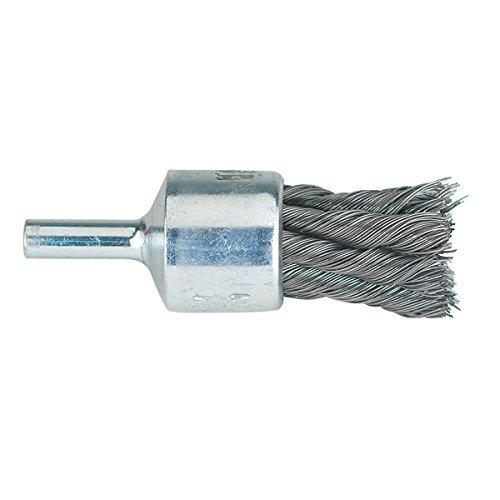 PFERD MILWAUKEE 697940830806 Straight Knot Type Brush- Wire Size: .020'' Coarse, Diameter: 1-1/8'' - Pack of 2