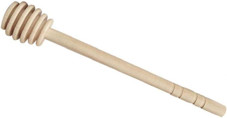Lankater Honig Mixstab Holz Honig Dipper-Stick F/ür Honig Dispense Drizzle Honig