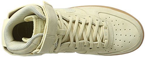 Nike Vrouwen Luchtmacht 1 Hi Se Brown Ivory 860544-100
