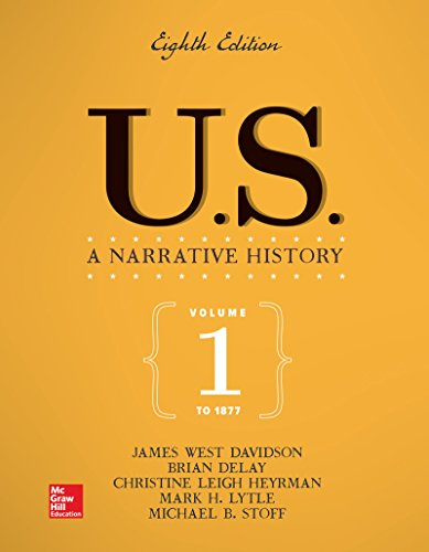 Us  A Narrative History Volume 1  To 1877