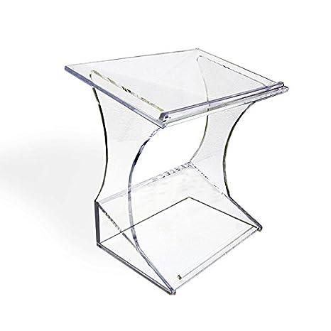 displaysense acrílico transparente atril de escritorio, mesa podio ...