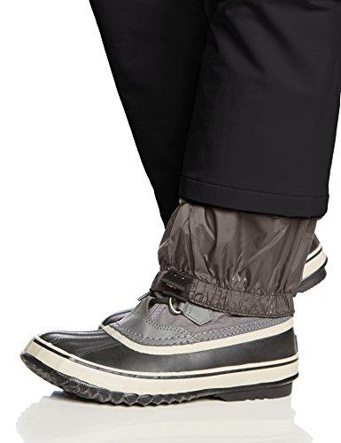 Winter Nero Pantaloni Activate Wolfskin Donna Softshell black Jack F4qXYZ
