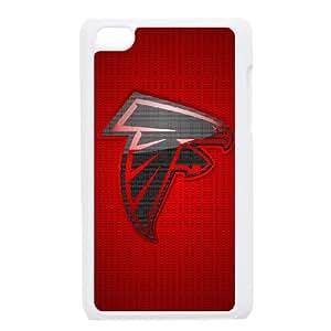 Atlanta Falcons Team Logo iPod Touch 4 Case White persent zhm004_8586162