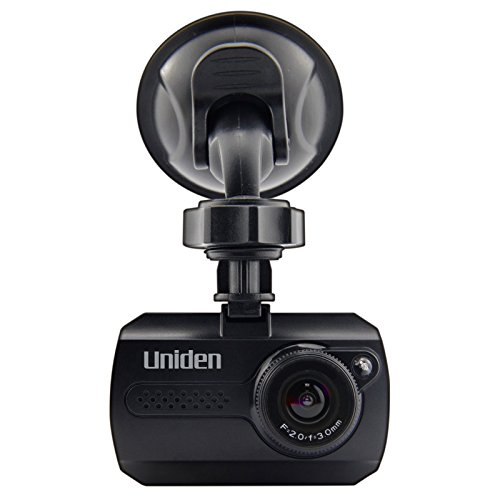 "Uniden 1080p Full HD Dash Cam, 1.5"" LCD, G-Sensor Collision Detection, Loop Recording, 140-degree Wide Angle Lens, DC1 (Certified Refurbished)"