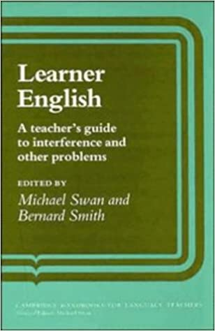 Amazon learner english a teachers guide to interference and learner english a teachers guide to interference and other problems cambridge handbooks for language teachers fandeluxe Choice Image