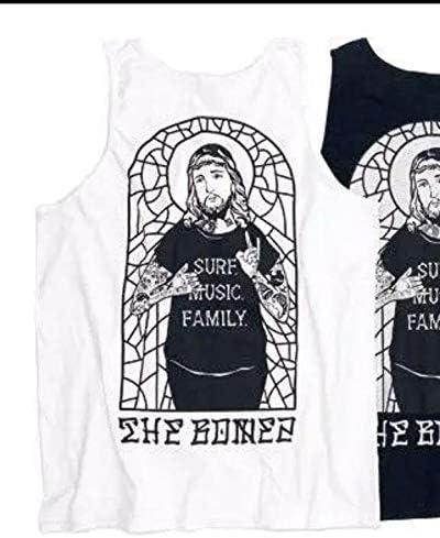 THE BONEZ JESUS タンクトップ 白 M